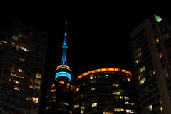 SDQ_2294 (stevemccaffrey) Tags: toronto ontario canada night sigmasdquattro sigma sigma30mmf14dc cityscape city buildings