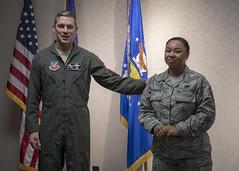 Master Sgt. Rohrenbach Promotes (124 Fighter Wing) Tags: airnationalguard idahoairnationalguard 124thfighterwing promotion e8 rohrenbach boise idaho unitedstates