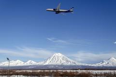 VQ-BQD Aeroflot - Russian Airlines Boeing 777-3M0(ER) (Zhuravlev Nikita) Tags: spotting elizovo kamchatka uhpp pkc boeing 777 77w aeroflot