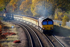 Flexing It's Muscles.... (marcus.45111) Tags: db clag gm class66 66050 train railway flickr flickruk ukrailways 2019