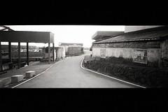 (Ah - Wei) Tags: wide bw film taiwan street