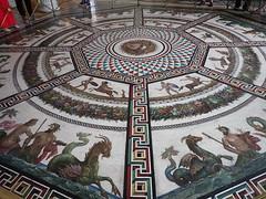 Hermitage: floor mosaic, Pavilion Hall (Anita363) Tags: mosaic floor roman classical mythology hermitage smallhermitage peacockpavilion pavilionhall museum stpetersburg russia palace