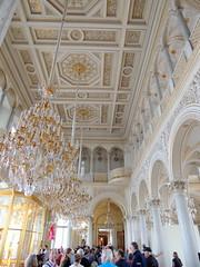 The Hermitage: Pavilion Hall (Anita363) Tags: hermitage smallhermitage peacockpavilion pavilionhall museum stpetersburg russia palace