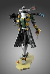 The Dark Hunter Lariska (dviddy) Tags: bionicle lariska darkhunter bzpower bzp ccbs herofactory lego afol moc legomoc bioniclemoc cowboy cowgirl oldwest wildwest nikonnikon d7000
