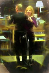 Dancing In The Bakery-HSS! (☼☼ Jo Zimny Photos☼☼) Tags: sliderssunday people dancing man woman ithacabakery upstateny fingerlakes