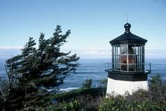 Cape Meares Light (HaveRoverWillTravel) Tags: ektachrome ektachromee100 newektachrome film lighthouses lighthouse water maritime oregon