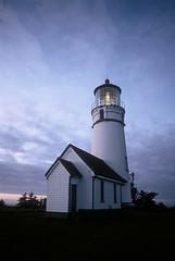 Cape Blanco Light (HaveRoverWillTravel) Tags: ektachrome ektachromee100 newektachrome film lighthouses lighthouse water maritime oregon