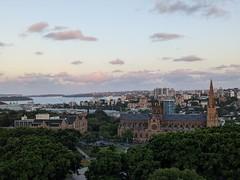 Sunset colour (koukat) Tags: sydney australia harbour dusk sunset view