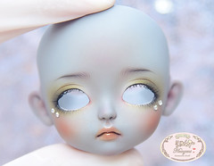 Lati yellow Sophie GS. (♥..Nomyens..♥) Tags: bjd balljointdoll toy doll custom faceup paint painting painted repaint handmade nomyens nomyenscom latidoll latiyellow sophie tinydoll