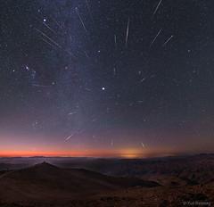 Geminid Meteors over Chile (pyzvlvba11) Tags: nasa
