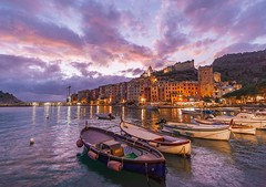 PORTOVENERE-COLORI-PAESE (sciatore73!) Tags: liguria portovenere tramonto sunset mare ocean sea paesaggio landscape seascape pentax k1 irix