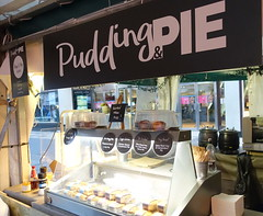 Pudding Pie street food stall in York (Tony Worrall) Tags: north update place location uk visit area attraction open stream tour photohour photooftheday pics country item greatbritain britain british gb capture buy stock sell sale outside dailyphoto outdoors caught photo shoot shot picture captured ilobsterit instragram england yorkshire yorks scene scenery york city puddingpie streetfood urban sign outdoor eat cook pies foodies foodfestival stall