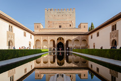 The Court of the Myrtles (cookedphotos) Tags: canon 5dmarkiv travel travelphotography spain granada alhambra reflecting reflection pool water palace courtofthemyrtles patioofthepond reservoir architecture nasridpalace