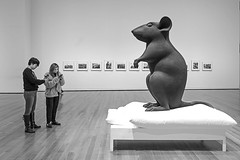 Larger than Life (vtom61) Tags: mouse art exhibit seattleartmuseum sonya7riii sonyzeiss1635mmf4
