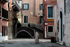 Ancient Venice (miroslav0108) Tags: oldcity bridge people oldarchitecture canal venice