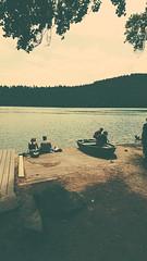 IMG_20190720_134607094-2 (schoolartBYschoolboy) Tags: auvergne puydedome lake pier forest vulcan