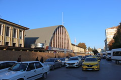 Eskişehir train station (Timon91) Tags: turkey turkei turkije türkiye turkiye turk yht yüksek hizli tren high speed train rail railway ray tcdd trein spoor zug eisenbahn bahn bahnhof spoorweg trem rails railways railroad