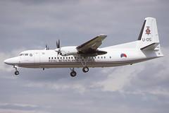 U-05 Fairford 24-7-1998 (Plane Buddy) Tags: u05 fokker 50 klu netherlands fairford riat