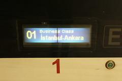 YHT to Ankara at Söğütlüçeşme train station, İstanbul (Timon91) Tags: turkey turkei turkije türkiye turkiye turk yht yüksek hizli tren high speed train rail railway ray tcdd trein spoor zug eisenbahn bahn bahnhof spoorweg trem rails railways railroad