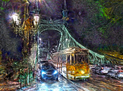 Budapest - Hungria - El puente de la Libertad (Antonio-González) Tags: elpuentedelalibertad budapest hungria szabadsághíd szabadság híd puente