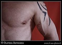 Diter Fassbinder - 30 (L'il aux photos) Tags: homme nudité nu masculin mâle man nude naked