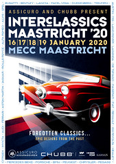We invite you to visit our stand at Interclassics Maastricht 2020. The first classic car meeting in the new year.