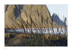 Iceland 2019 (Michael Fleischer) Tags: iceland autumn landscape sky colour mountain beach sand gravel evening wave vestrahorn stokksnes nikon d810 nikkor 70200mm f40 vr