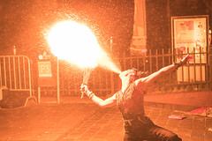 Fire breather. (Alex-de-Haas) Tags: weareattitude 2470 adobelightroom attitudeholland attitudefest attitudefest2019 attitudefesthalloween attitudefesthalloween2019 d5 dutch halloween holland nederland nederlands netherlands nikkor nikkor2470 nikon nikond5 noordholland p3 popencultuurpodiump3 purmerend alternatief alternative alternativefashion art attitude beautiful beauty clothing cosplay culture cultuur custome emo evenement event expressie expression fashion fest festival fun hairstyle kleding kunst lifestyle mensen mode people plezier portrait portret punk rock scary spooky style northholland