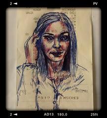 Miradas... Pequeños dibujos a boli en trocitos de papel. . . #portrait #drawing #art #draw #painting #portre #ballpen #blue #artist#dibujos #ballpen #sketch #fanart  #artlovers #painter#boli  #artstagram  #portrait#miradas#goodnight #bellezza #dibujos #di (egc2607) Tags: blue miradas sketch portre disegno eyes goodnight instagram tattoo art buongiorno goodmorning artlovers bellezza ballpen artist girl boligrafo painter painting boli dibujosaboli drawing hairstyle fanart dibujos portrait artstagram buenosdias draw