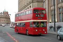 Preserved Manchester Corporation Leyland Atlantean 3629 UNB629 in Corporation St Manchester (Mark Bowerbank) Tags: preserved manchester corporation leyland atlantean 3629 unb629 st