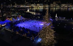 Luzern / Lucerne Europa Platz Switzerland winter wonderland (roli_b) Tags: luzern lucerne zentralschweiz suisse suiza schweiz switzerland svizzera night shot magic moments lilght christmas tree weihnachten weihnachtsbaum arbol navidad eislaufen kkl europaplatz europa platz place schlittschuh panorama panoramic view kongresshaus jean nouvel kultur abend winter wonderland travel viajar advent reisen nachtaufnahme christbaum city pulse scape stadt lichter 2019 dezember december