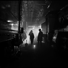 'Shed Scene' (Andrew@OxfordPart2) Tags: didcot railway centre great western british railways engine shed steam locomotive reenactors reenactment timeline events