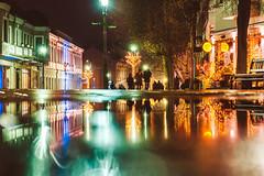 Reflections   Kaunas old town #341/365 (A. Aleksandravičius) Tags: old town street wet raining lights xmas reflections city 2019 kaunas evening lietuva building europe lithuania nikon z 7 nikonz7 z7 mirrorless nikkor 85mm 85 365 3652019 85mmf18g nikkor85mm nikon85mm18g f18g nikon85mm project365 341365