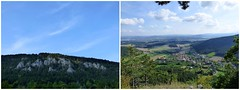 Blick hinauf - Blick hinunter / Look up - look down (ursula.valtiner) Tags: landschaft landscape berg mountain bäume trees wald forest wood dorf village flatzerwand flatz niederösterreich loweraustria austria autriche österreich