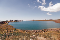Lake Kari (hs.capture) Tags: armenia mountains aragats lake nature landscape water stones volcano