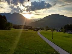 Sunset mountains (José Kroezen) Tags: soll austria tirol mountains mountainfiew mouintains mountainview sunset green greanisbeautiful nature sunray light lightfall sunlight clouds