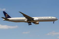 HZ-AK20 (PlanePixNase) Tags: frankfurt fra eddf airport aircraft planespotting saudia boeing 777 777300 b773 773
