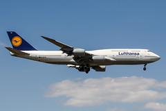D-ABYM (PlanePixNase) Tags: frankfurt fra eddf airport aircraft planespotting boeing 747 7478 jumbo b748 748