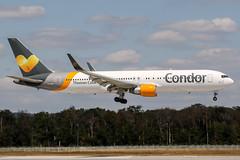 D-ABUF (PlanePixNase) Tags: frankfurt fra eddf airport aircraft planespotting boeing 767300 767 b763 condor 763