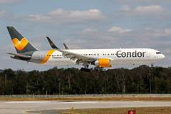 D-ABUZ (PlanePixNase) Tags: frankfurt fra eddf airport aircraft planespotting boeing 767300 767 b763 condor 763