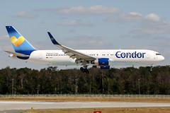 D-ABUI (PlanePixNase) Tags: frankfurt fra eddf airport aircraft planespotting boeing 767300 767 b763 condor 763