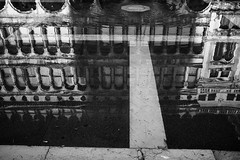 Reflection (Massimo Usai Photography) Tags: reflection venice blackandwhite