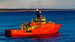 Grampian Conqueror Departing Aberdeen Harbour 08/12/2019 (Rab,) Tags: aberdeen scotland unitedkingdom