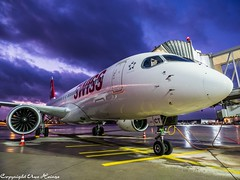 The Last Light HAJ 02122019 09 (U. Heinze) Tags: aircraft airlines airways airplane planespotting plane sky himmel haj hannoverlangenhagenairporthaj eddv olympus omd em1markii 12100mm flugzeug