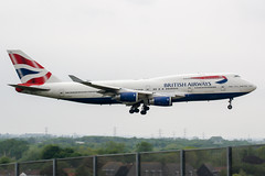 G-BYGD (PlanePixNase) Tags: london heathrow lhr egll planespotting airport aircraft british britishairways boeing 747 b744 747400 jumbo 744