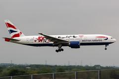 G-YMML (PlanePixNase) Tags: london heathrow lhr egll planespotting airport aircraft british britishairways boeing 777200 b772 777 772