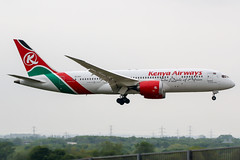 5Y-KZH (PlanePixNase) Tags: london heathrow lhr egll planespotting airport aircraft kenya kenyaairways boeing 7878 787 b787 b788 788