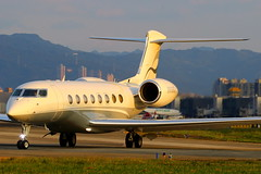 Gulfstream Aerospace G650ER Aircraft Guaranty Corp Trustee N858CG (Manuel Negrerie) Tags: gulfstream aerospace g650er aircraft n858cg corporate executive bizjet aviation g6 gvi planes spotting design technology canon airport tsa songshanairport avgeeks