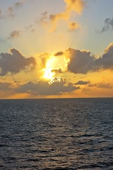 IMG_0160 (M0JRA) Tags: sunrise sunsets britannia ships cruises boats sea caribbean waves po islands helicopters sky clouds sun rays dusk evening butterfly bugs rainbows