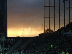 heaven over millerntor (fuisligo) Tags: hamburg fussball millerntor stadion himmel